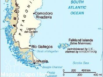 Capo Horn Cartina.Crociere A Capo Horn Ushuaia E Terra Del Fuoco Yacht