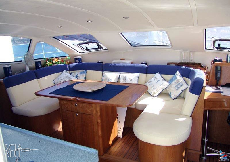 Catana 47 oc: salone
