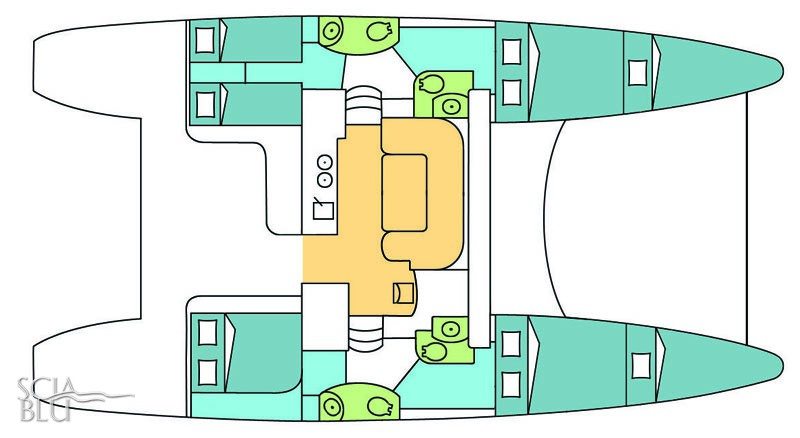 Catana 47 oc: layout
